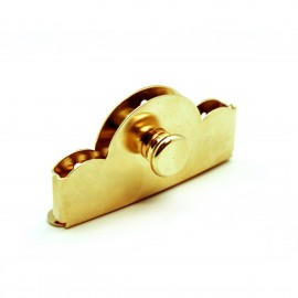 Gold plated tailpiece for bandurria/lute